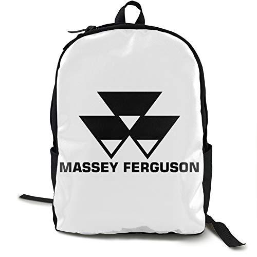 Massey Ferguson - Mochila de escuela secundaria para hombres, mujeres, niños y niñas, resistente al agua