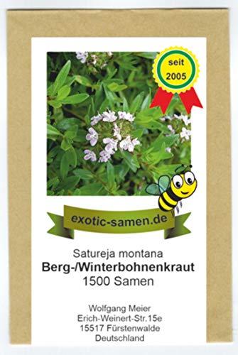 Winter-, Bergbohnenkraut - Bienenweide - mehrjährig - Satureja montana - 1500 Samen