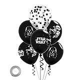 CYSJ 36 pcs Decoración de cumpleaños de Star Wars Decoraciones para Fiesta De CumpleañOs con Tema Star Wars Globos De Suministros para Fiestas Temáticas de Juego para Niños