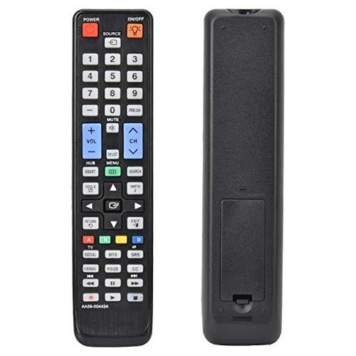 DAUERHAFT Smart TV Control Remoto Controlador de televisión de Alta sensibilidad inalámbrico Inteligente portátil de Ahorro de energía Compatible con AA59-00443
