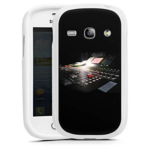 DeinDesign Samsung Galaxy Fame Duos Hülle Silikon Case Schutz Cover Tonstudio Mischpult Regler