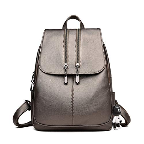 BUKESIYI Women's Backpack Handbags Rucksack Shoulder Bags PU Leather Mini Kawaii Anti-theft CCUK78250 Golden