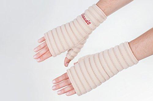 STAUDT Handgelenk-Bandage Größe S (paarweise) - gegen Arthrosen oder chronische Polyarthritis der Handgelenke, Karpaltunnelsyndrom - nächtliche Anwendung - eine gute Alternative zu Manschetten und Schienen (Somnishop Set)