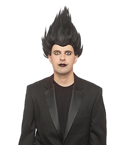 Enigma Wigs Men's Reaper, Black, one Size fits All