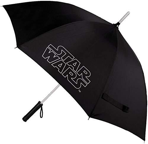 Cerdá - Paraguas con Luz Star Wars para Adultos - Licencia Oficial Disney