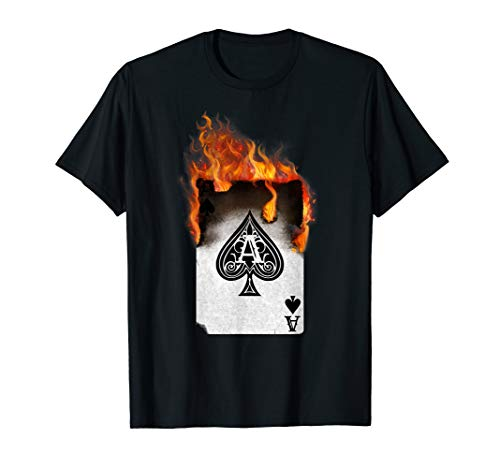 ACE OF Spaten/Poker & Spielkarten T-Shirt