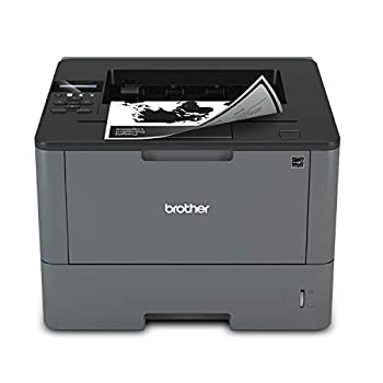 Brother Monochrome Laser Printer HL-L5200DW Wireless Networking Mobile Printing Duplex Printing Amazon Dash Replenishment Ready