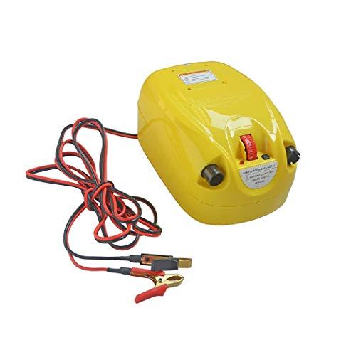 juqingshanghang1 Kayak, Tablero Inflable, Tablero de Paleta, Accesorios, Bomba de Aire del Coche, el Cilindro de Aire de Alta presión eléctrica Adecuado para el Exterior.