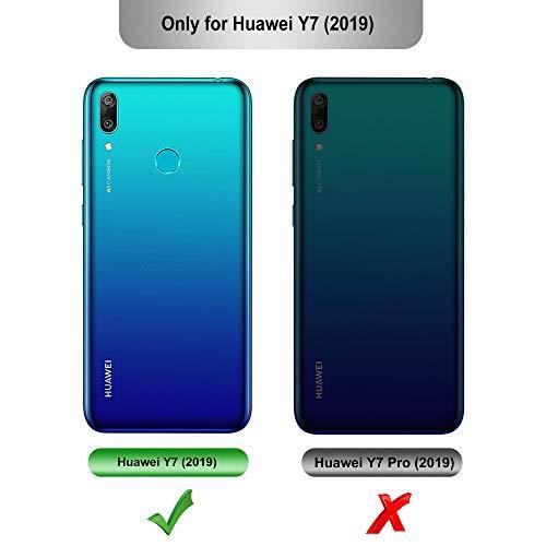 iBetter für Huawei Y7 2019 Hülle, für Huawei Y7 Prime 2019 Hülle, Ultra Thin Tasche Cover Silikon Handyhülle Stoßfest Case Schutzhülle Shock Absorption Backcover passt für Huawei Y7 2019 Phone - 2