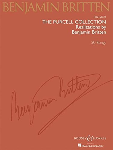 Price comparison product image The Purcell Collection - Realizations by Benjamin Britten: 50 Songs High Voice (CHANT)