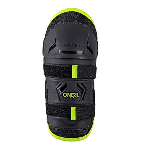 O'Neal Peewee Knee Guard Kinder Knieschoner schwarz/neon yellow Oneal: Größe: XS/S