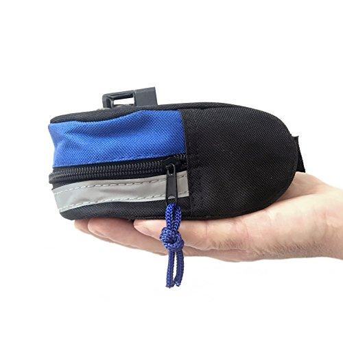 Fahrrad Satteltasche mit Flickzeug Werkzeugtasche Bike Sattel Tasche