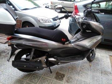 Funda Cubre Asiento Scooter o Moto Honda PCX (Ref SH)