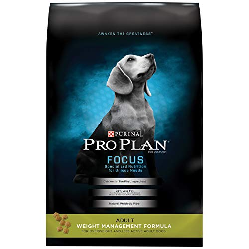 Purina Pro Plan Weight Control High Protein Dry Dog Food, FOCUS Weight Management Formula - 6 lb. Bag, (Model: 00038100131898)