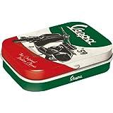 Nostalgic-Art 81383 Vespa - The Italian Classic | Pillen-Dose | Bonbon-Box | Metall | gefüllt mit Pfefferminz-Dragees