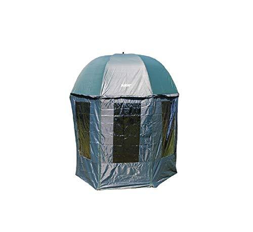 QLS Regenschirm SCHIRMZELT Zelt ANGELSCHIRM 250 cm WASSERFEST Schirm WASSERDICHT