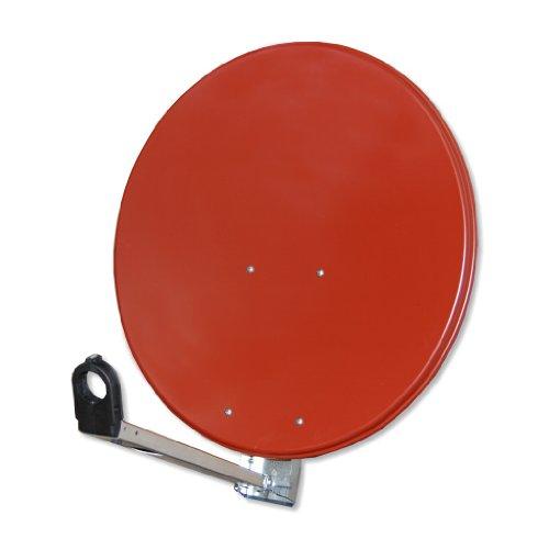 Antenne Gibertini 85 cm Alu Ziegelrot L-Serie
