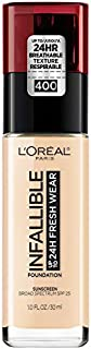 L'Oreal Paris Makeup Infallible Up to 24 Hour Fresh Wear Foundation, Pearl, 1 fl. Ounce