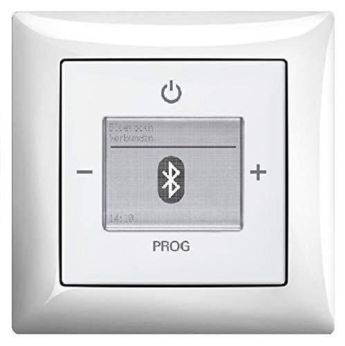 Preisvergleich Produktbild Busch Jäger Unterputz UP Bluetooth Radio (8217U) Balance SI alpinweiß glänzend - Set mit Radioeinheit 8217 U,  Rahmen und Radioabdeckung