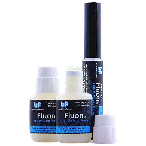 byFormica Fluon Plus PTFE Escape Prevention Coating - Set of 3 Bottles