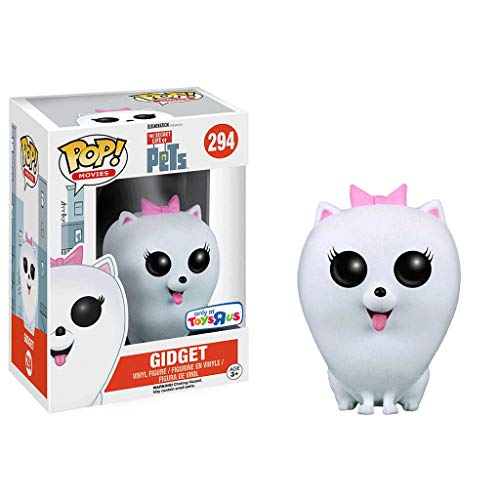 Funko Pop Movies : The Secret Life of Pets - Flocking Gidget 3.75inch Vinyl Gift for Cartoon Fans SuperCollection