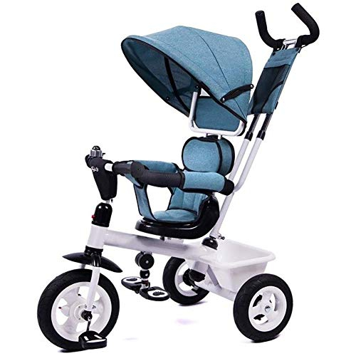 Read About Portable Trike Kids' Tricycles,Bicycle Baby Stroller, 1-3-6 Years Old Toy Car Push and Ri...