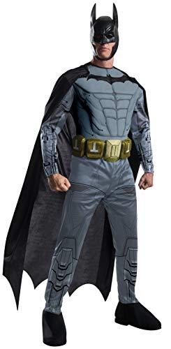 Rubie's Men's Arkham City Deluxe Muscle Chest Batman Costume