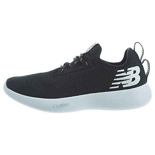 New Balance Men's NB Recovery v1 Transition Lacrosse Shoe, Black, 5 2E US
