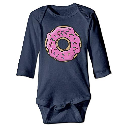 FGRFQ Combinaison Bébé Boys Girls Cartoon Donut Baby