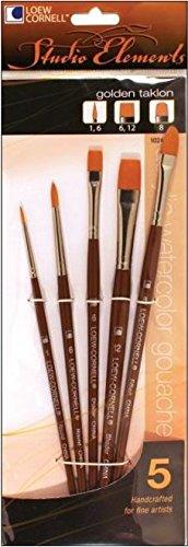 Multi Colored Loew-Cornell 245B All-Purpose Brush Set 25-Count