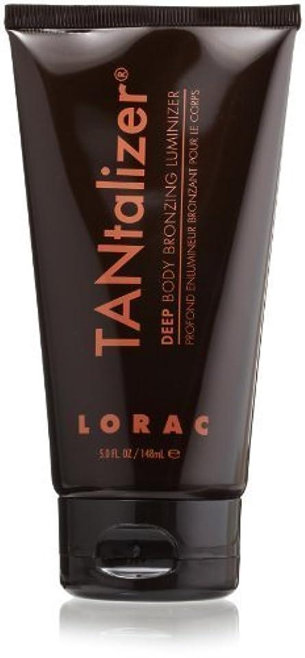 要求放牧するかわいらしいLORAC TANtalizer Body Bronzing Luminizer, Deep, 5 fl. oz. by LORAC [並行輸入品]