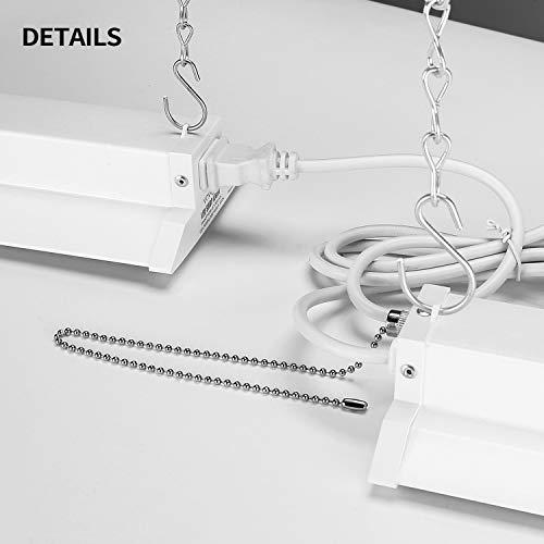VAVOFO LED Industrial Utility Shop Light for Garage (12 Pack)