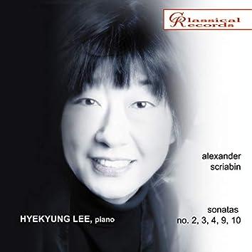 Hyekyung Lee - Scriabin: Piano Sonatas No. 2, 3, 4, 9, 10