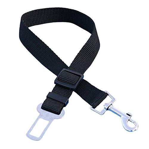 Ashley GAO Cinturón de seguridad ajustable para perros pequeños y medianos con clip de viaje para mascotas
