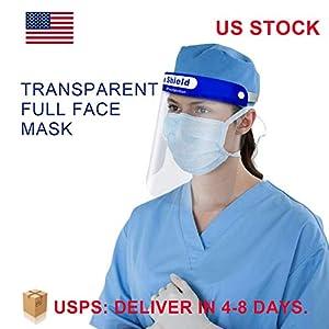 Disposable face shield 5PCS - Plastic Face Shield Safety Face Shield Full Face Shield
