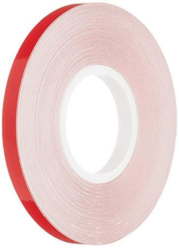4R Quattroerre.it - 10009 - Stripes Strisce Adesive per Auto, Rosso, 5 mm x 10 mt