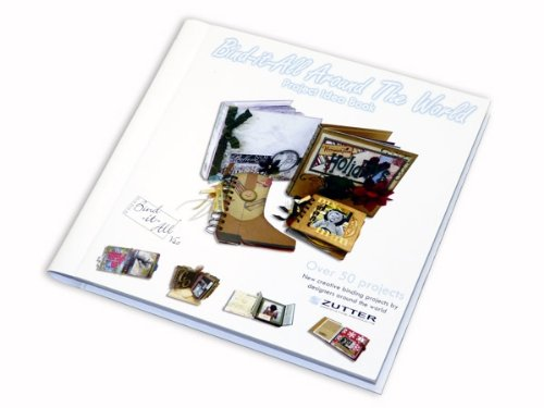 Zutter Idea Book Bind-it-All Around The World, 125 Pages