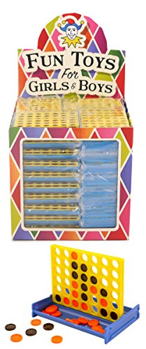 geo-versand 4/6/8/10 bis 100 Stück Mädchen Jungen Spielzeug Adventskalender Mitgebsel mitbringsel Dinosaurier Krone Perlen basteln Gastgeschenke (5 x 4-gewinnt)