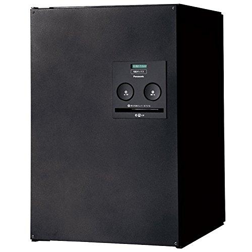 パナソニック(Panasonic) 戸建住宅用宅配ボックス COMBO ミドルタイプ FR(後出し) 右開き 鋳鉄ブラック CTNR4021RTB
