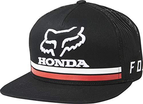 Fox Snapback Cap Honda Schwarz