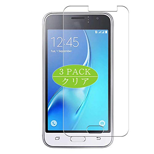 Vaxson 3 protectores de pantalla, compatible con Galaxy J1 (2016) J120F/Express 3 J120A/Amp 2, protector de película de TPU [no protectores de vidrio templado]