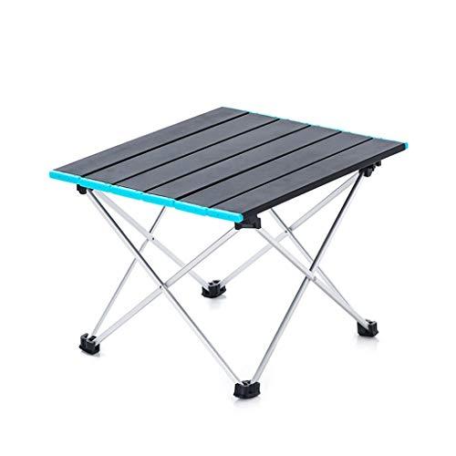 GXC versie van de klaptafel voor buiten, draagbare tafel van aluminium, gemakkelijk te monteren, multifunctioneel, uitbreidbaar.