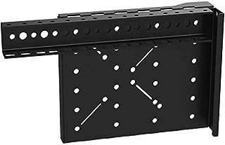 C2G 4RU Fixed Rail Kit for Vertical Wall-Mount Cabinet, Black (VWM-RR-4RU)