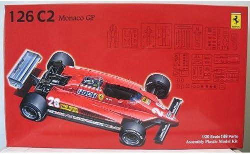 1 20 Ferrari 126C2 Monaco GP (Model Car) Fujimi GP-6 Gründ Prix Series