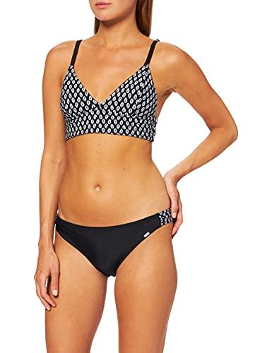 Schiesser Damen Bustier Mini Bikini-Set, Schwarz (Schwarz 000), 38 (Herstellergröße: 038C)
