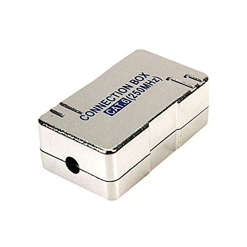 Odedo LSA Module de Connexion Cat 6 connecteur LSA pour réparer, rallonger câble réseau et câbles de Pose, boîte de Connexion (2 x Cat 6)