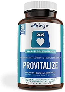 Provitalize Natural Menopause Probiotics for Weight Gain Hot Flashes Night Sweats Low Energy product image