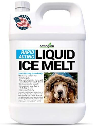 Ice Melt Pet Safe Ice Melt De Icer for Sidewalks Driveways Decks Concrete Spray Pet Friendly product image