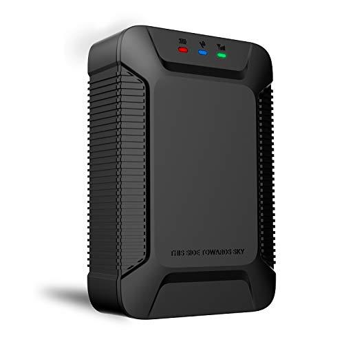 Localizador GPS para Coche, Lncoon GPS Tracker Antirrobo Geo-Cerca, Alarma de vibración & Exceso de Velocidad, Corte de Combustible para Automóvil Motor Vehículo Coche - Tarjeta SIM de Datos Incluida