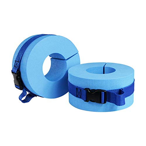 N \ A Swimming Arm Float Rings, Arm Bands Floater Sleeves Swimming Rings Tube Armlets, Foam Swim Aquatic Cuffs, Water Exercise Aerobics Float Ring for Kids Toddlers and Adults Beginners